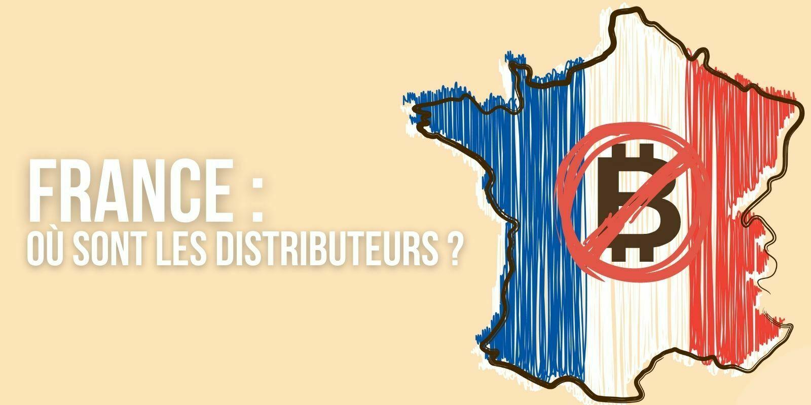 Distributeurs de Bitcoin (BTC): pourquoi la France est-elle un tel désert?