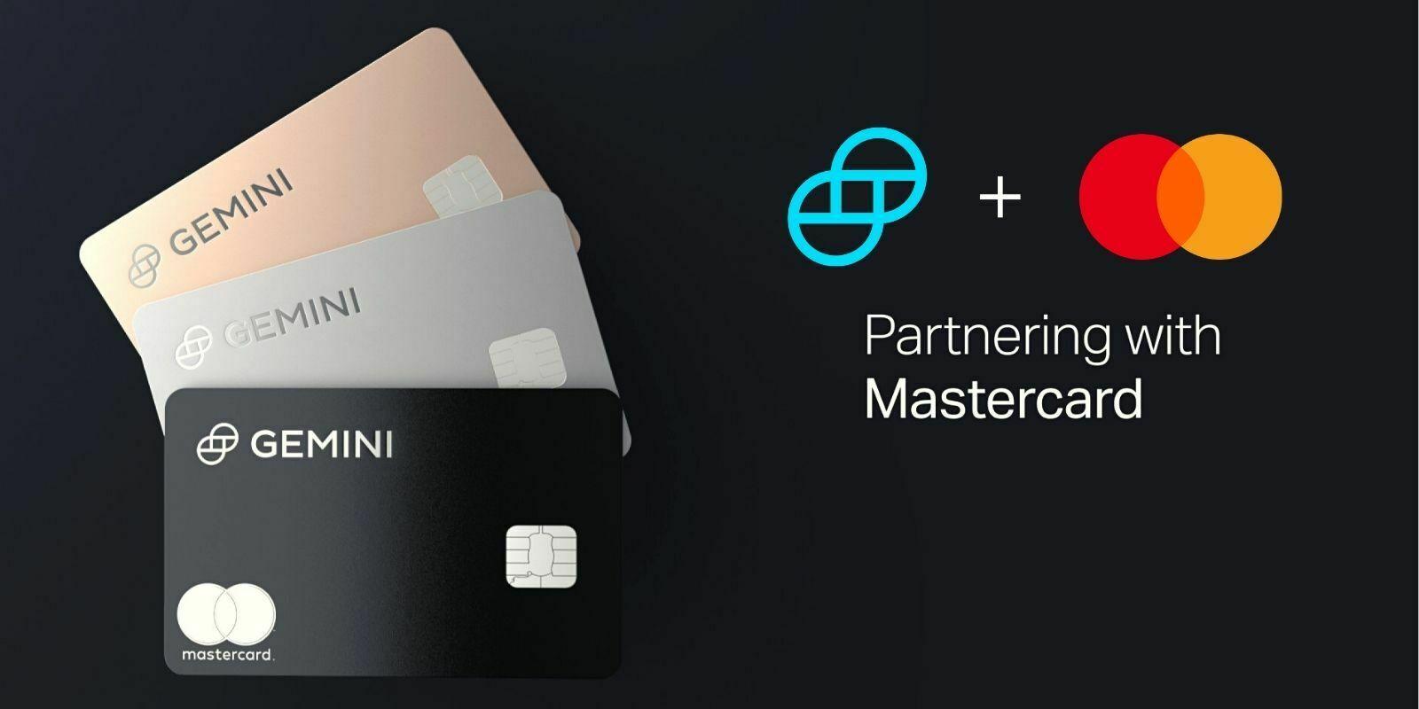 Gemini s'associe à Mastercard pour le lancement de sa crypto-carte de cashback en Bitcoin (BTC)