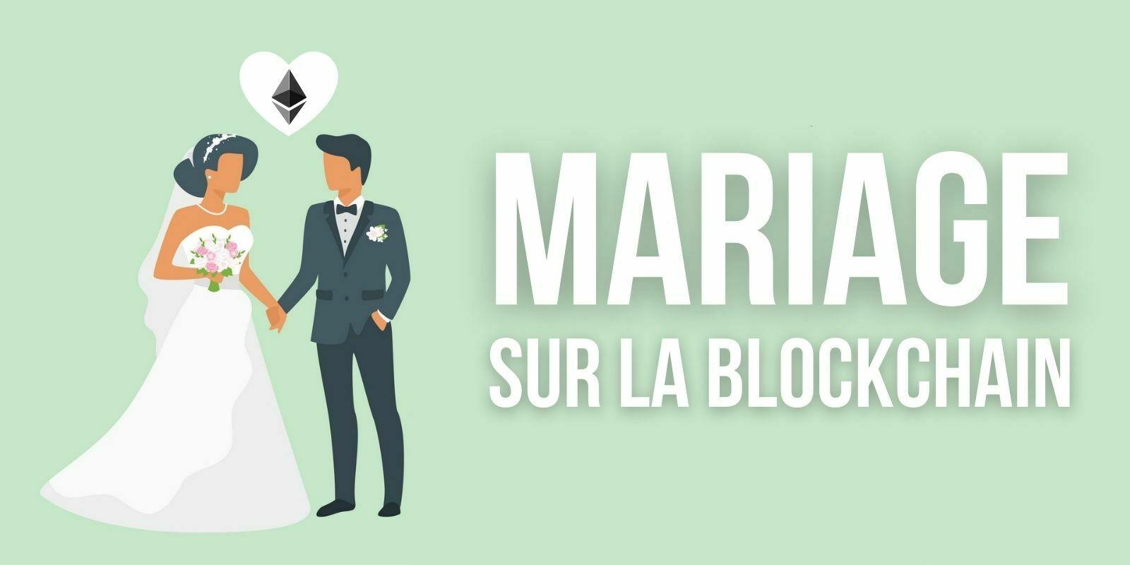 Un couple vient de se marier… Sur la blockchain Ethereum (ETH)