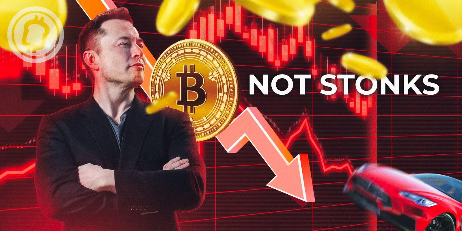 Projection - Et si… Tesla vendait tous ses bitcoins (BTC) ?