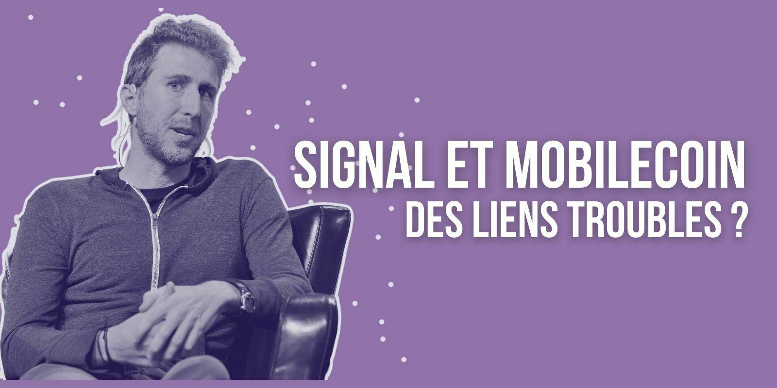 Le cofondateur de Signal critiqué sur ses relations troubles avec MobileCoin (MOB)