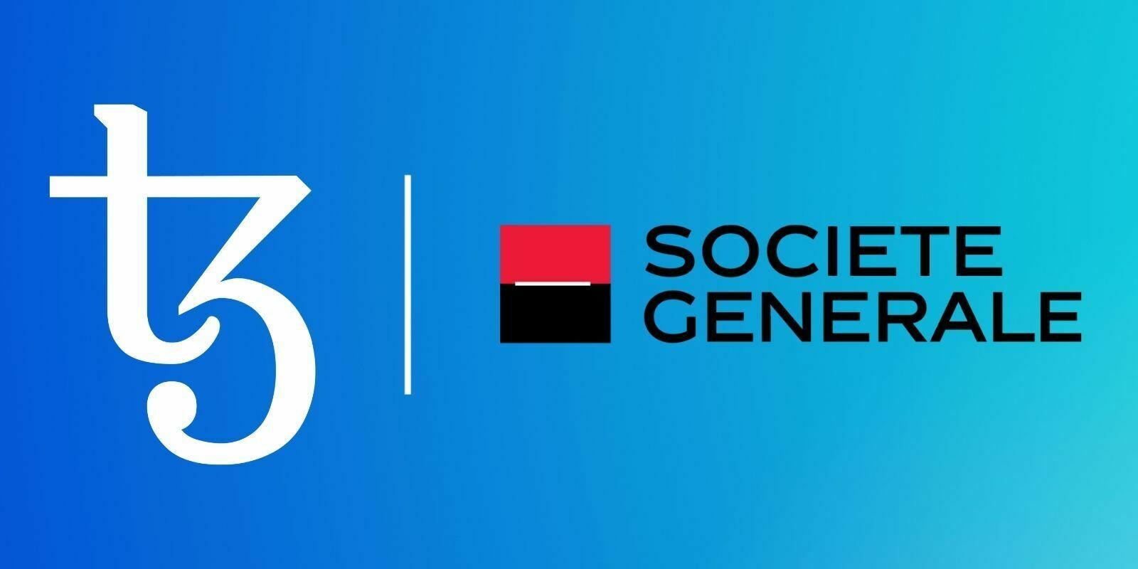 La Société Générale émet un security token sur la blockchain Tezos (XTZ)