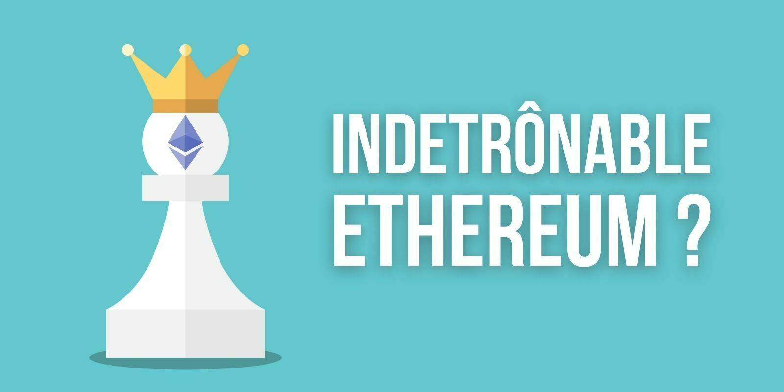 Selon Weiss Ratings, les rivaux d'Ethereum (ETH) ont peu de chance de le détrôner