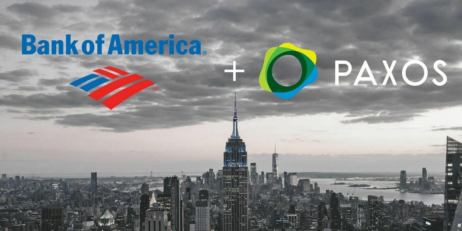 Paxos collabore avec Bank of America pour un règlement transactionnel « T+0 »
