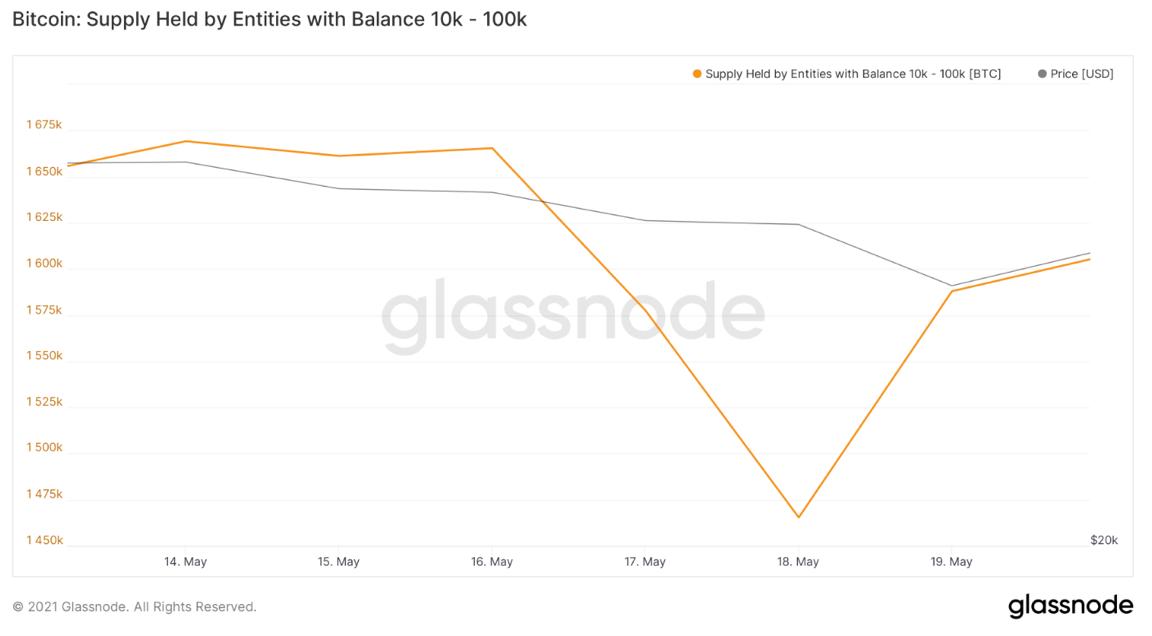 Bitcoin BTC whales krach dip