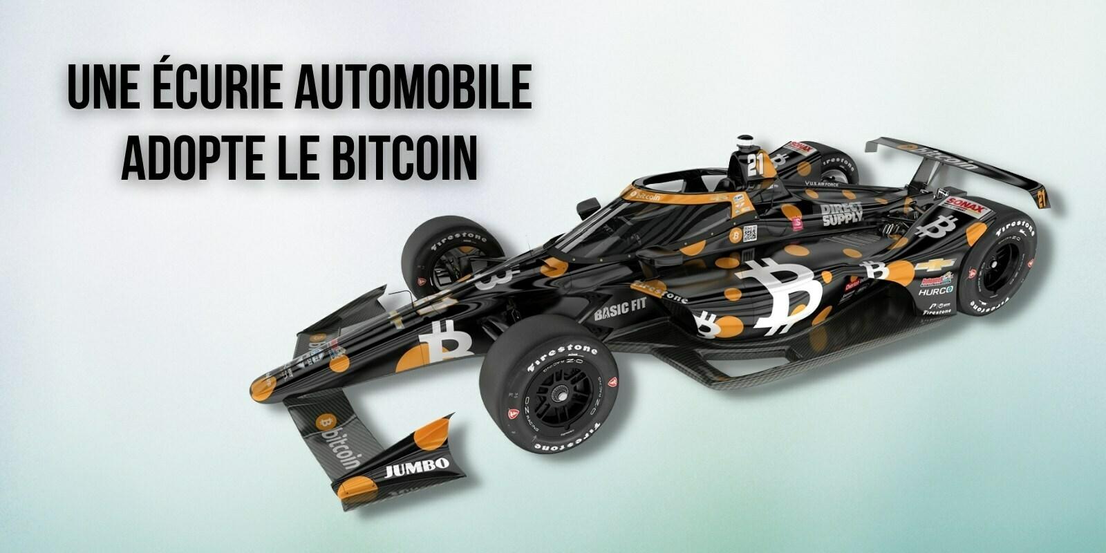 Le Bitcoin (BTC) mis à l'honneur dans une compétition automobile aux États-Unis