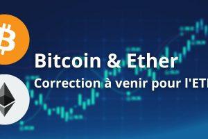 Le Bitcoin (BTC) poursuit son range pendant que l'Ether (ETH) consolide