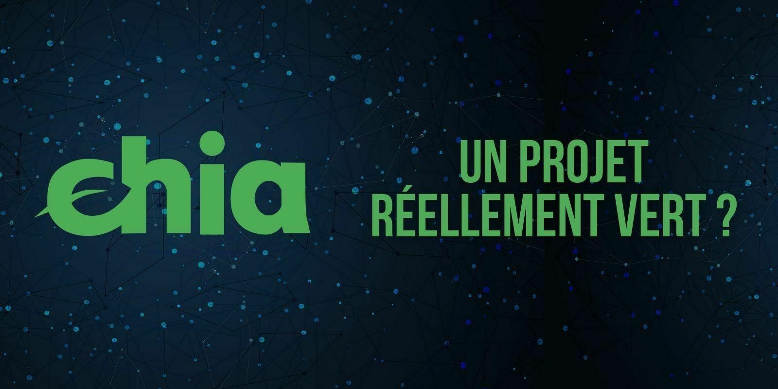 Chia Network: un réseau pas si «eco-friendly» ?
