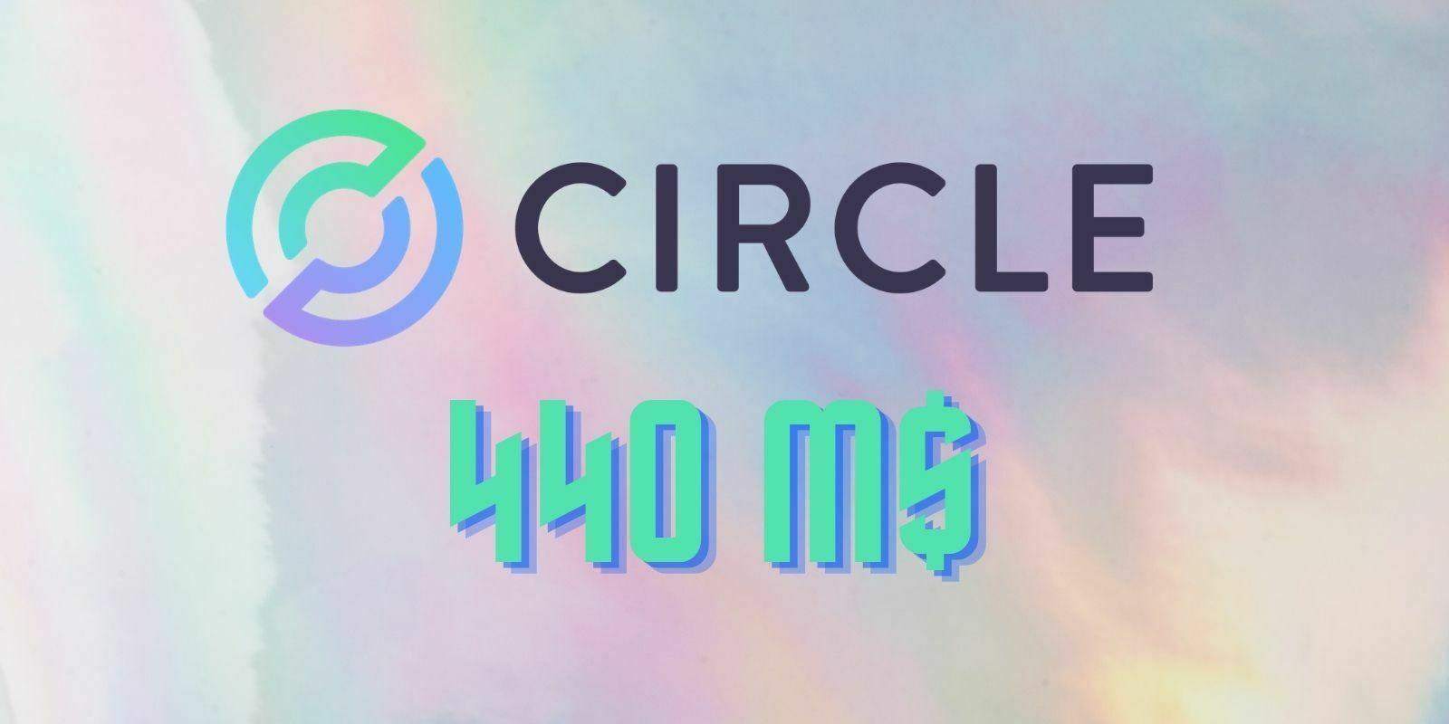 Circle à l'origine du stablecoin USDC lève 440 millions de dollars