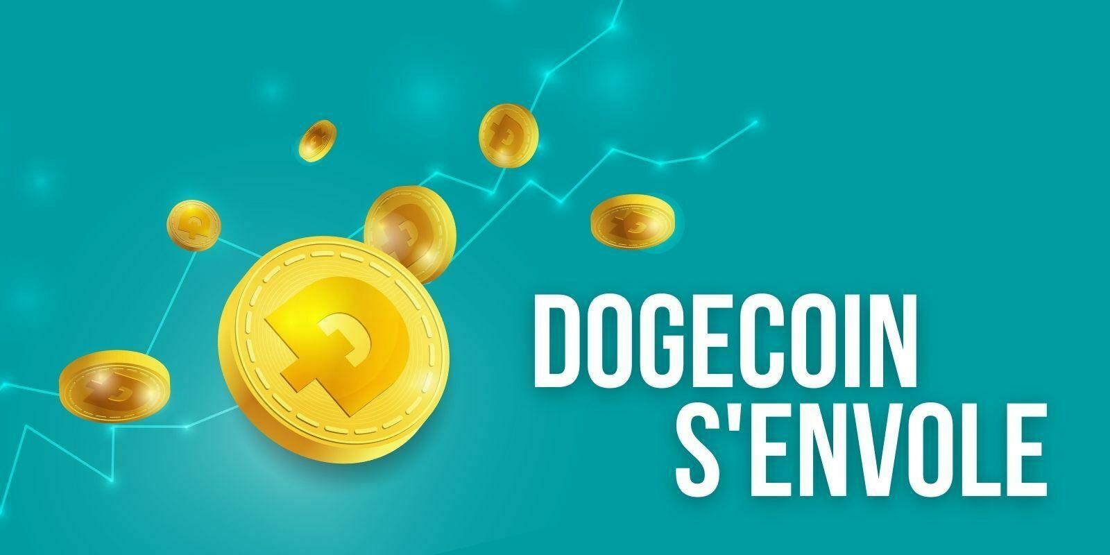 Le Dogecoin (DOGE) dépasse Tether (USDT) et devient la 5e cryptomonnaie la plus capitalisée