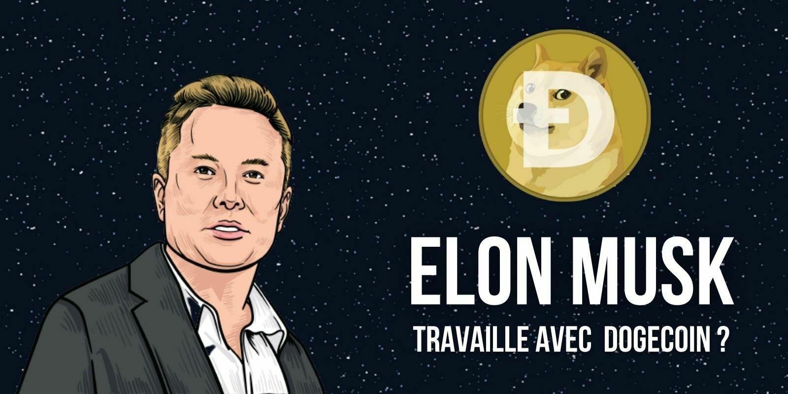 Elon Musk travaillerait avec les développeurs du Dogecoin (DOGE) pour améliorer l'efficacité du réseau