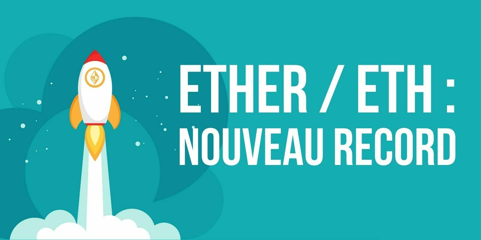 L'Ether (ETH) atteint un nouveau record à 4 100 dollars