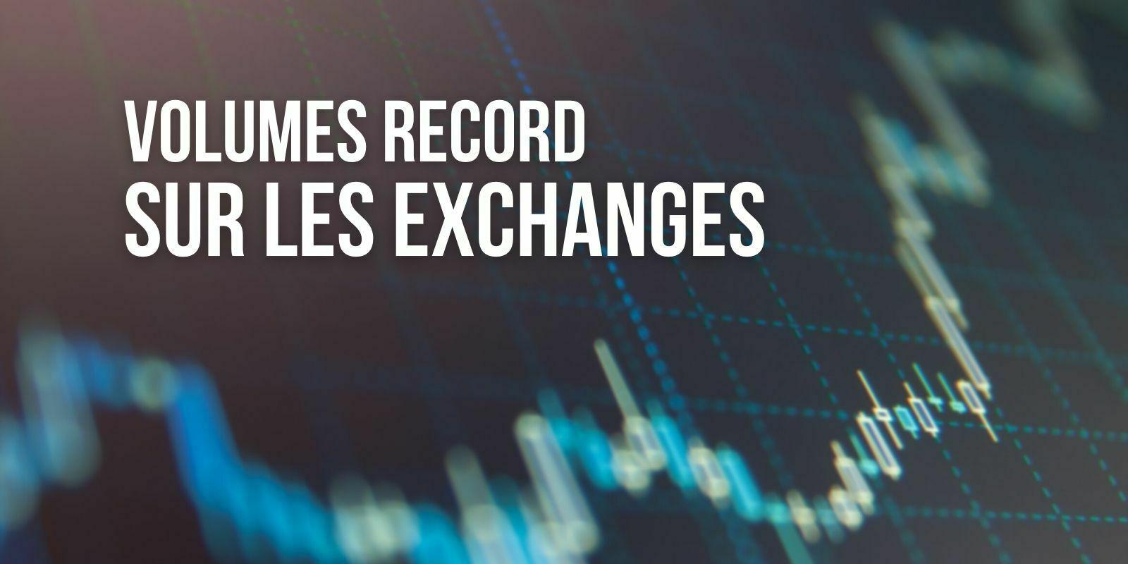 Les volumes d'échange des exchanges centralisés atteignent un nouveau record en mai