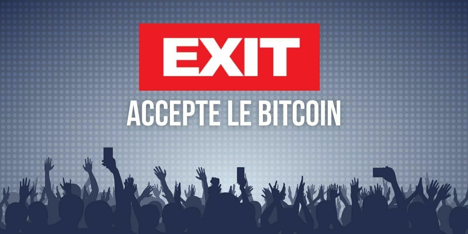 Exit, un des plus gros festivals européens, accepte les paiements en Bitcoin (BTC)