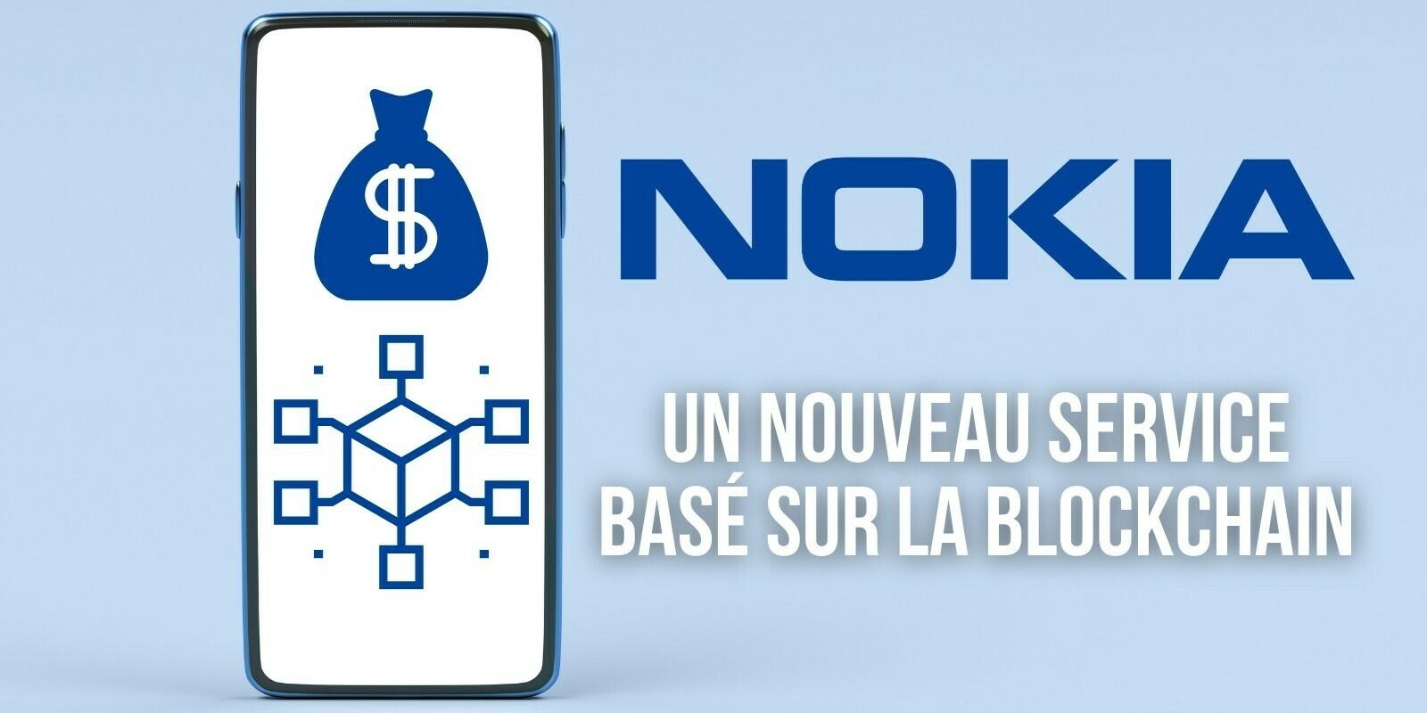 Nokia lance un service basé sur la blockchain pour le commerce de données