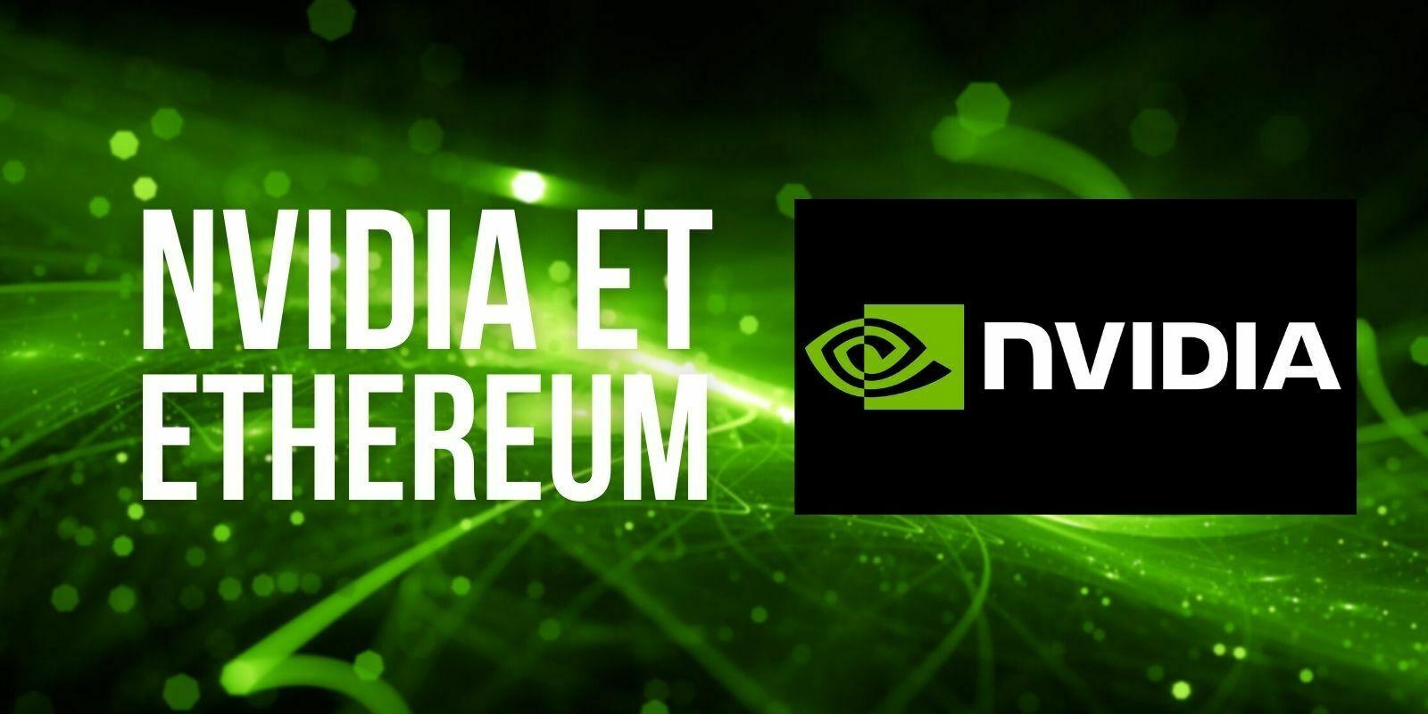 Ethereum2.0: Nvidia anticipe une baisse de la demande en cartes graphiques