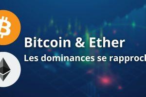Le rééquilibrage des dominances du Bitcoin (BTC) et de l'Ether (ETH) a commencé