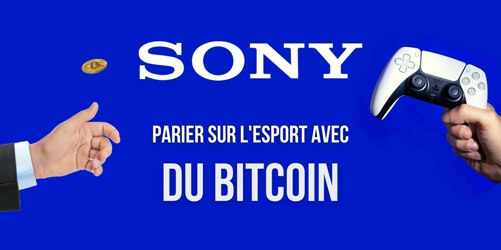 Sony dépose un brevet pour une plateforme de paris acceptant le Bitcoin (BTC)