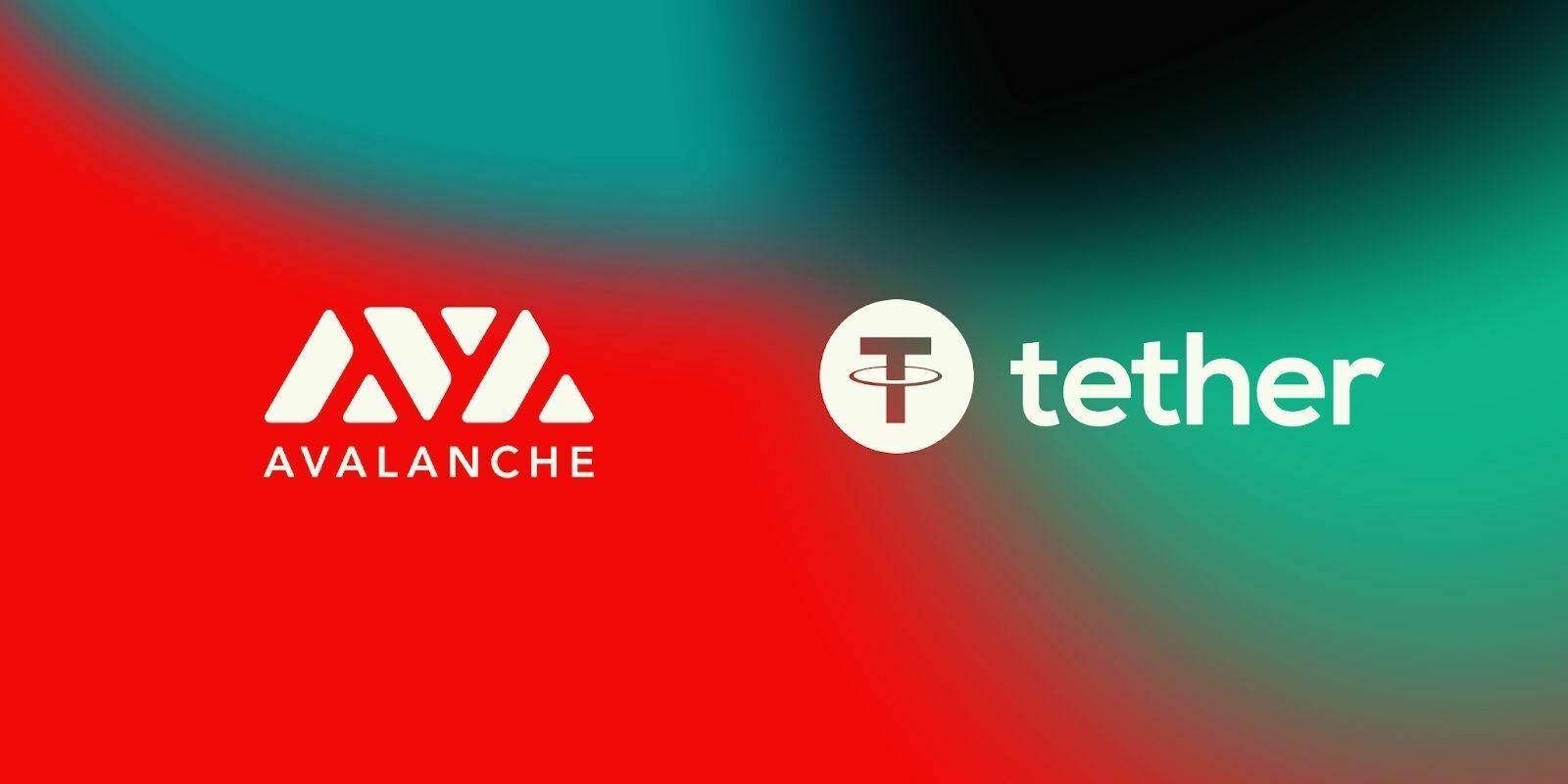 Le stablecoin Tether (USDT) se lance sur la blockchain Avalanche (AVAX)