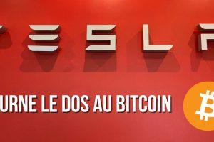Tesla suspend les paiements en Bitcoin (BTC), le réseau étant jugé comme « trop polluant »