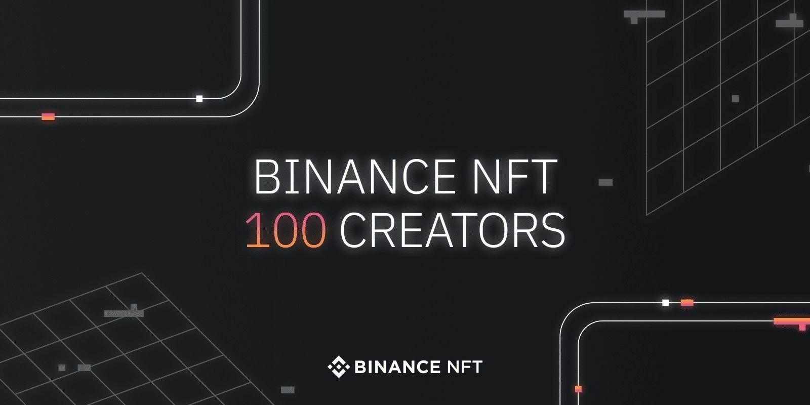 Binance sélectionne 100 artistes pour le lancement de sa plateforme dédiée aux NFTs
