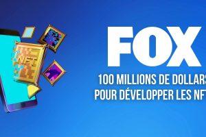 Fox Entertainment investit 100 millions de dollars dans son studio d'animations NFTs