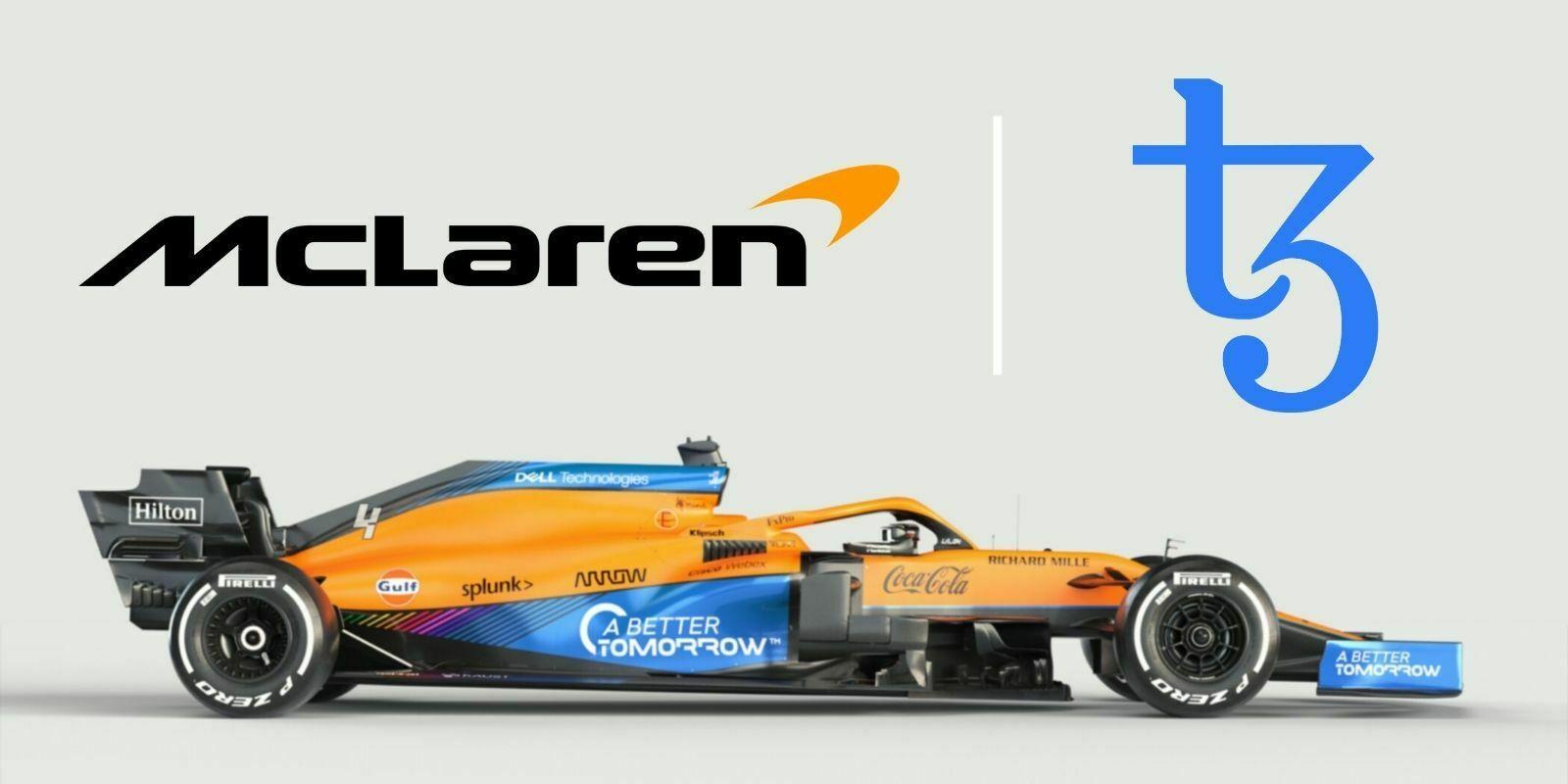 McLaren va lancer une plateforme de NFTs sur la blockchain Tezos (XTZ)