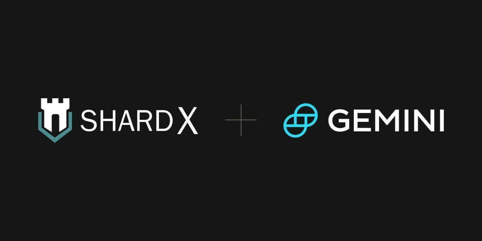 Gemini fait l'acquisition de la startup Shard X spécialisée dans la garde de cryptomonnaies