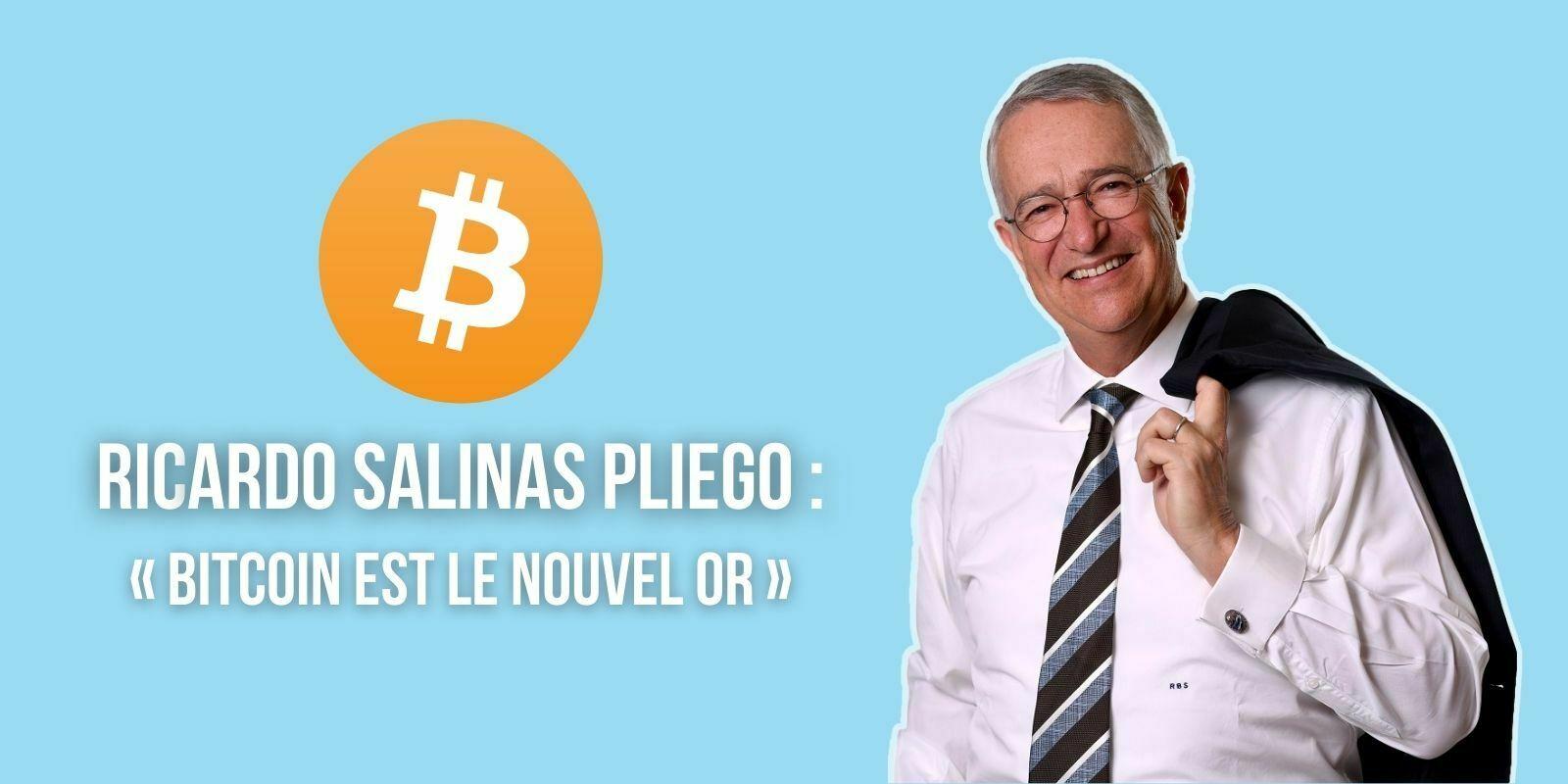 Ce milliardaire mexicain souhaite que sa banque accepte le Bitcoin (BTC)