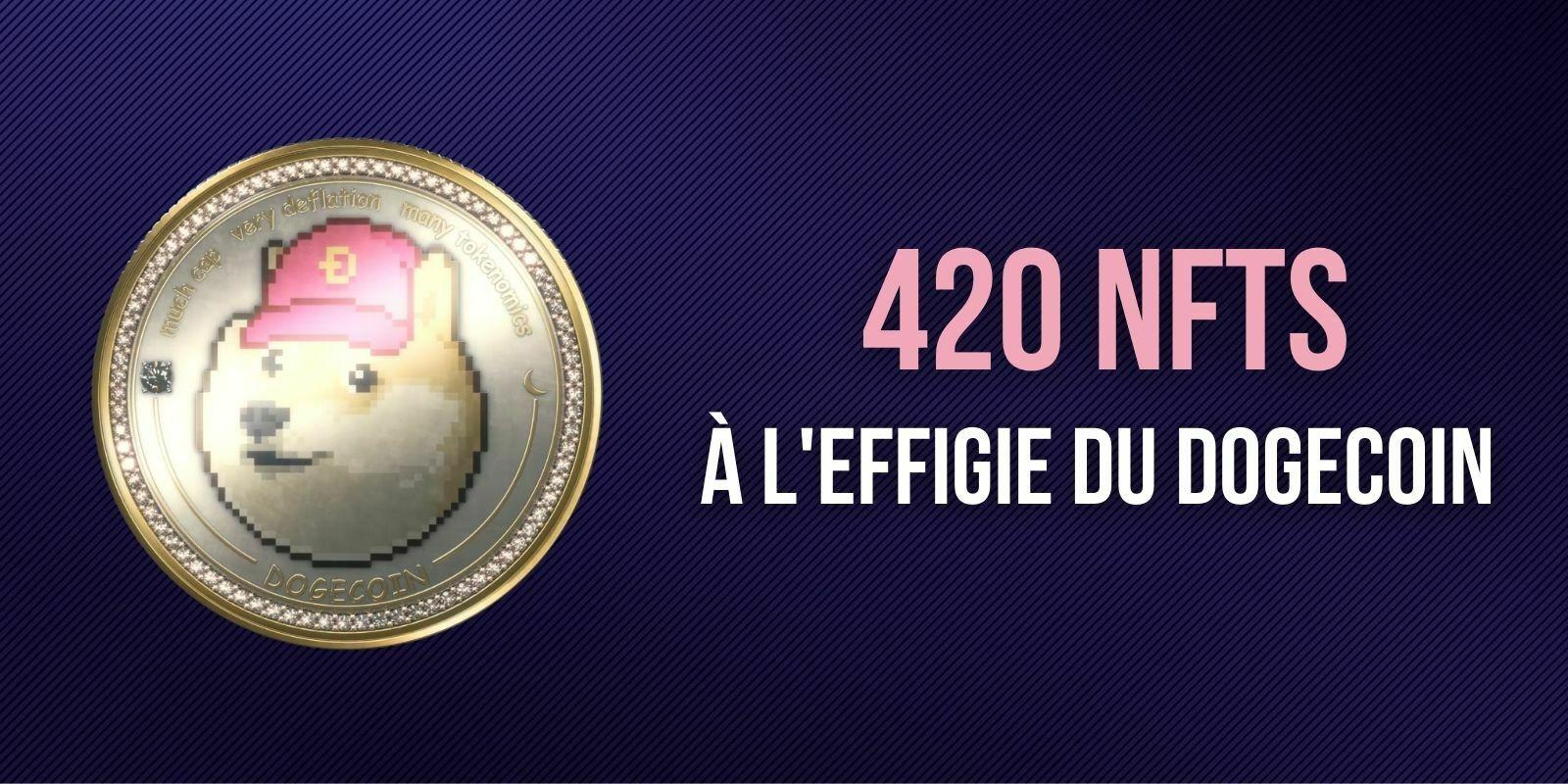 Le co-créateur de Dogecoin (DOGE) vend une série de 420 NFTs du Shiba