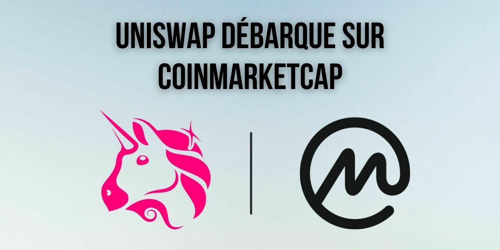 CoinMarketCap lance une fonction d'échange de tokens reposant sur Uniswap
