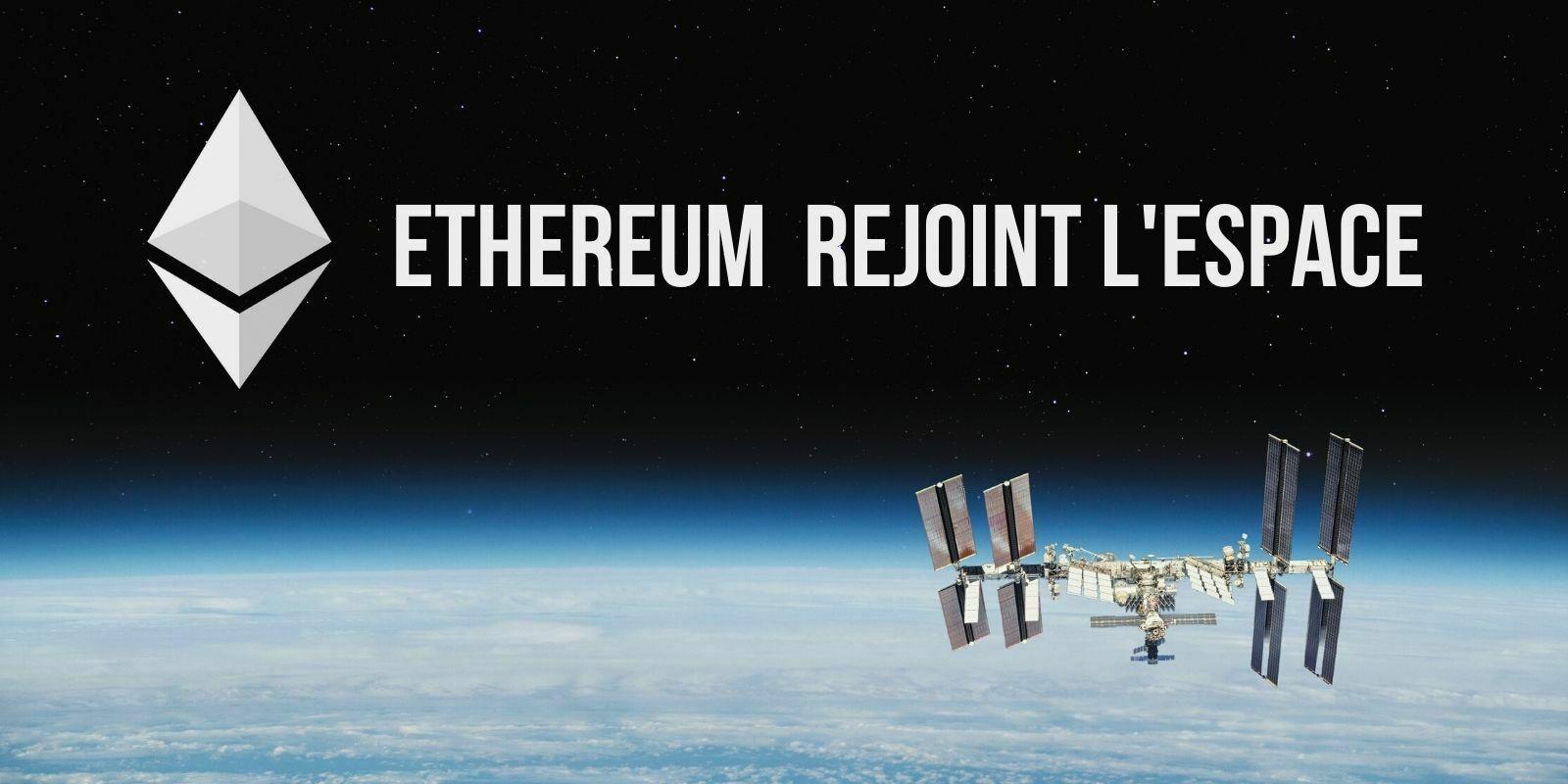 Une fusée de SpaceX envoie le premier nœud Ethereum à bord de l'ISS