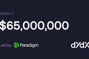 L'exchange décentralisé (DEX) dYdX lève 65M$ auprès de Paradigm