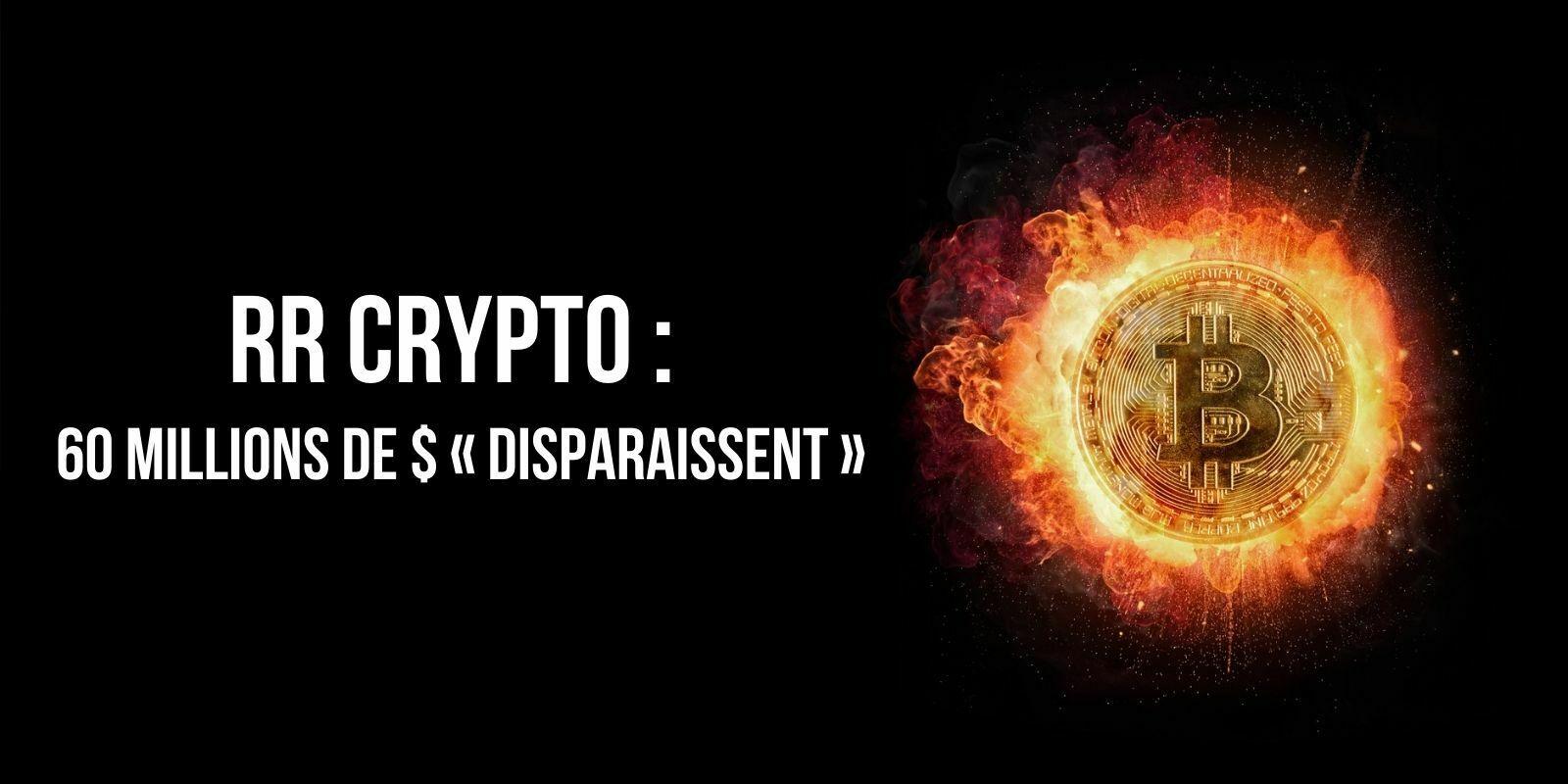 Les fonds des 4 500 membres de l'association dijonnaise RR Crypto « disparaissent » – Plus de 60 millions de dollars perdus ?