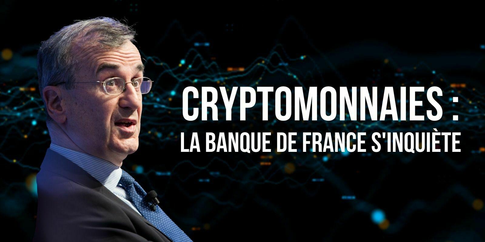 Cryptomonnaies: le gouverneur de la Banque de France alerte sur l'«urgence»