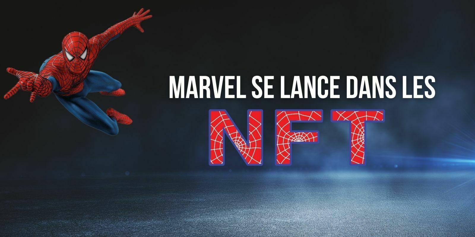 Marvel, propriétaire de Spiderman, va lancer une collection de tokens non fongibles (NFT)