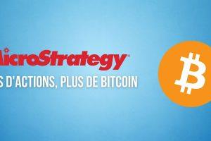 MicroStrategy va vendre 1 milliard de dollars d'actions pour acheter du Bitcoin (BTC)