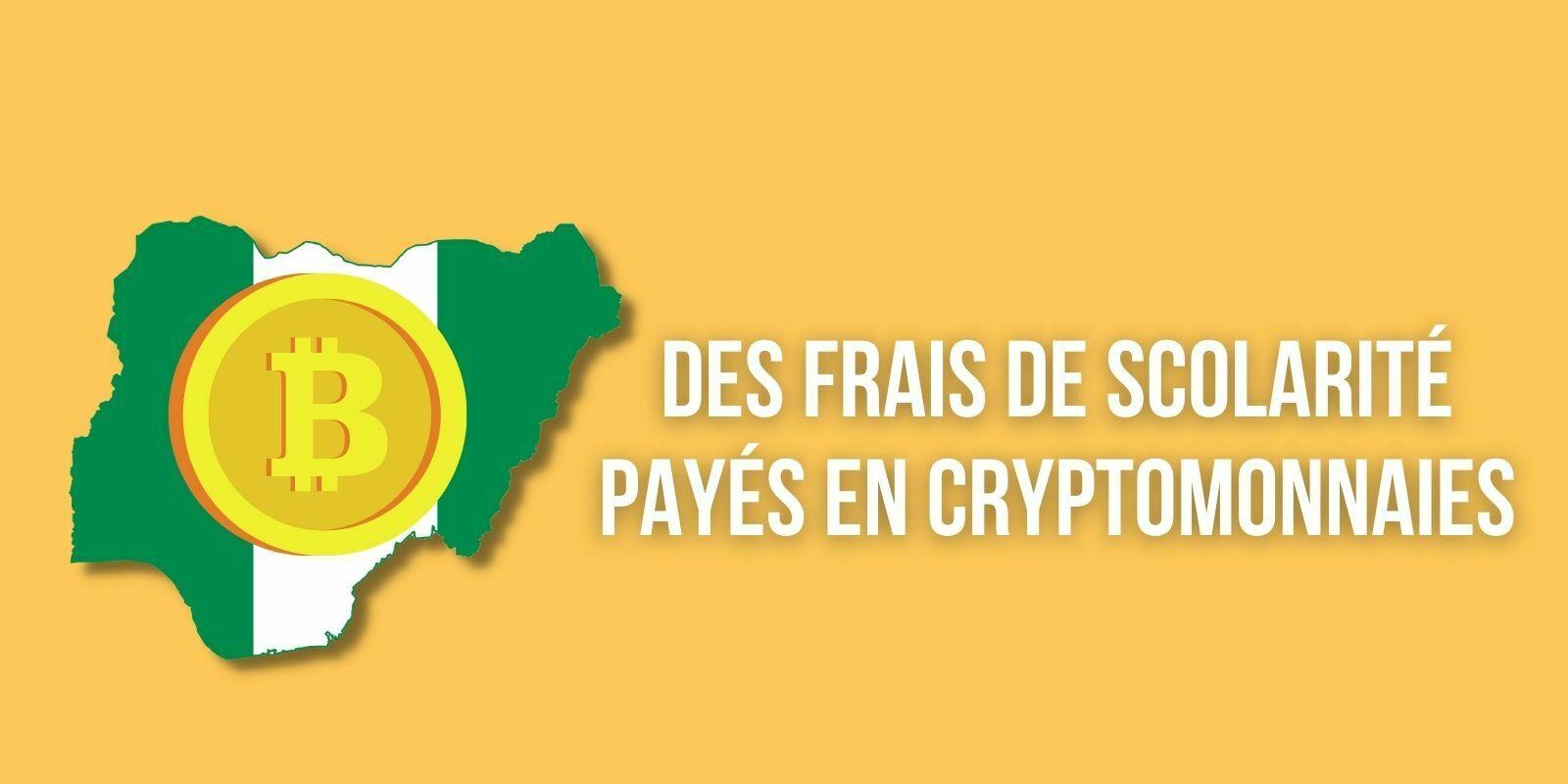 Nigeria : cette école accepte les cryptomonnaies pour le paiement des frais de scolarité
