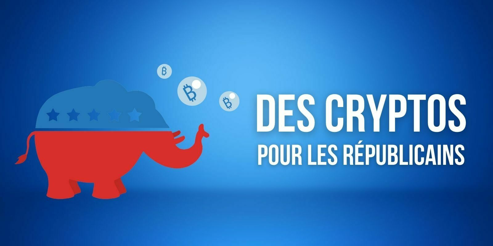 Le parti républicain américain accepte maintenant les dons en cryptomonnaies