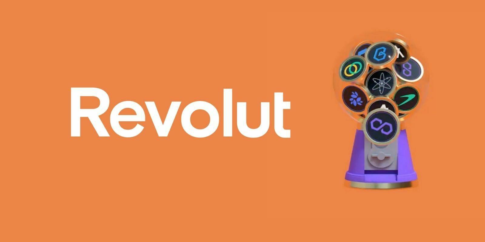 Revolut ajoute Chainlink (LINK), Polygon (MATIC) et 6 autres tokens à son application