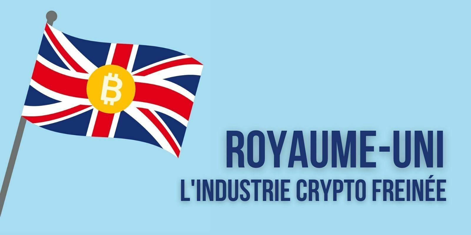 Au Royaume-Uni aussi, les régulations freinent le développement de l'industrie des cryptomonnaies