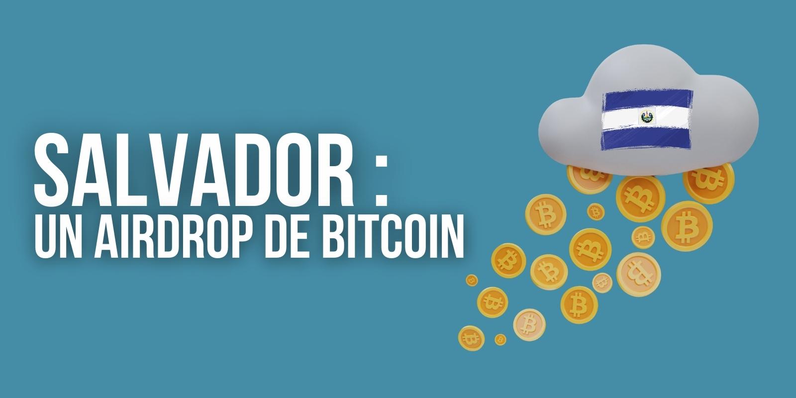 Le Salvador va distribuer du Bitcoin (BTC) à tous ses habitants