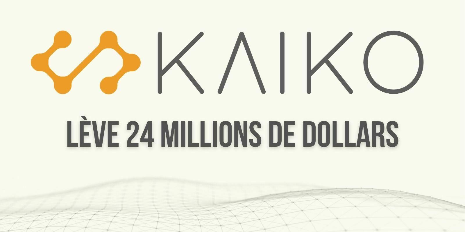 La startup française Kaiko lève 24 millions de dollars et vise maintenant un développement à l'international