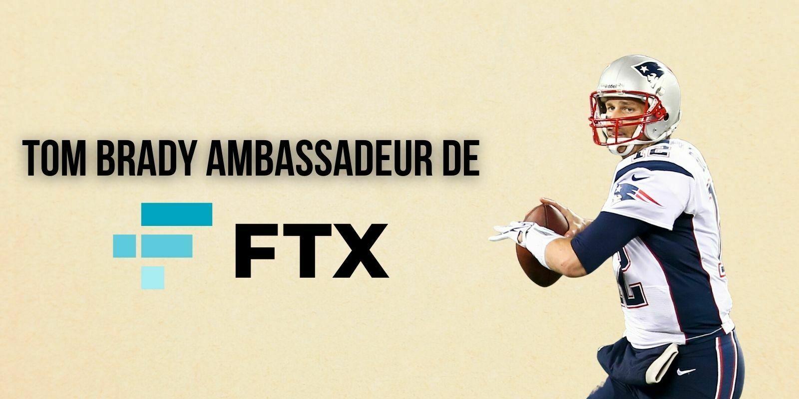 Tom Brady et Gisele Bündchen entrent au capital de FTX et deviennent ambassadeurs de la plateforme