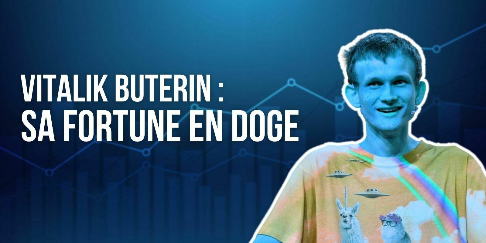 Vitalik Buterin révèle comment il a dégagé une fortune en Dogecoin (DOGE)