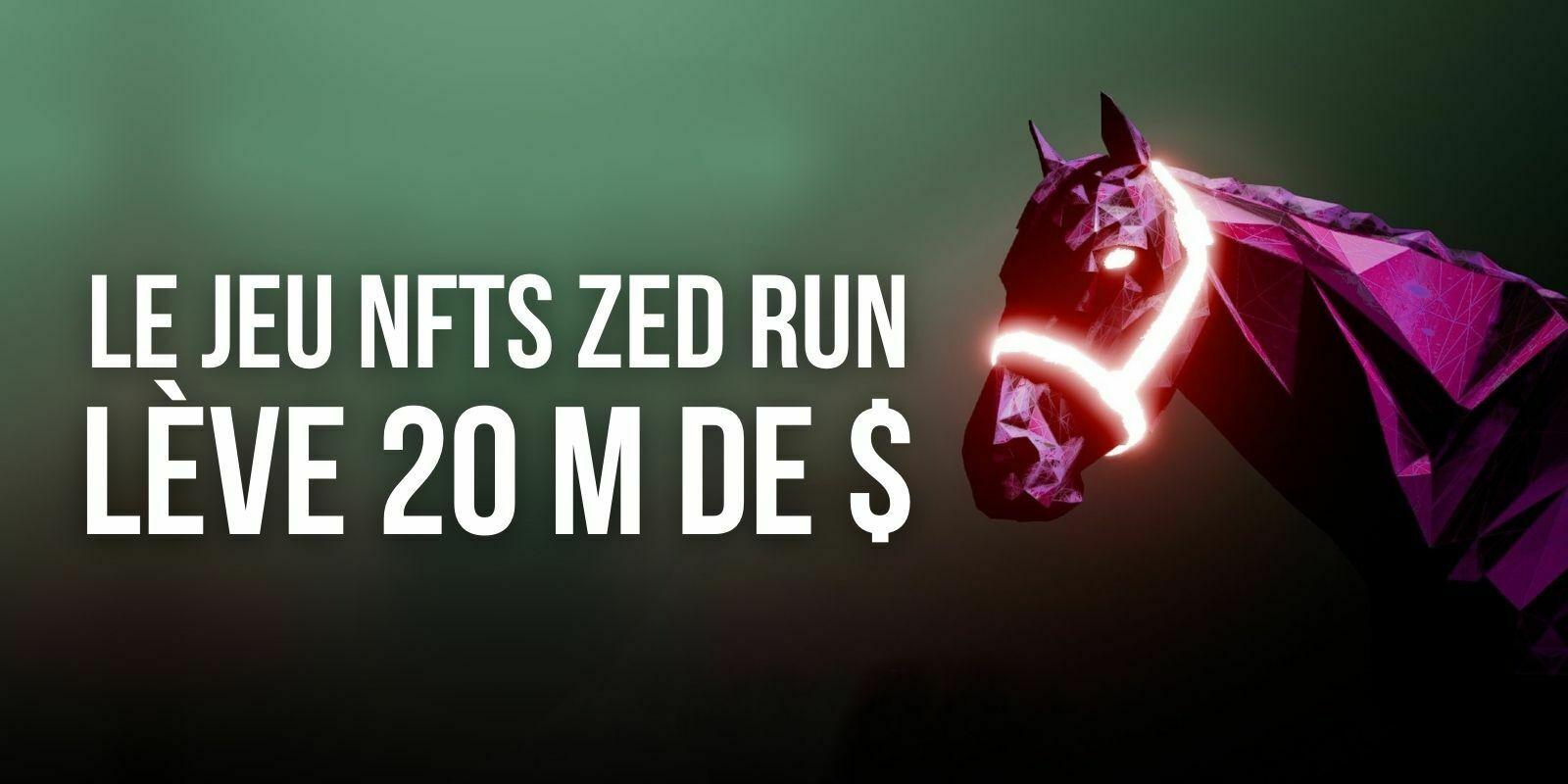 Virtually Human Studio (VHS) lève 20 millions de dollars pour développer le jeu NFT Zed Run
