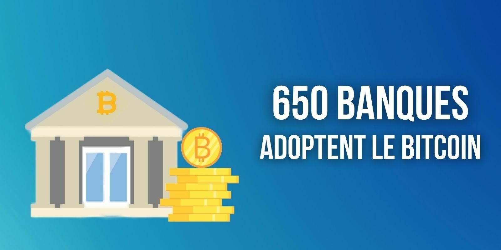 L'achat de Bitcoin (BTC) bientôt disponible auprès de 650 banques aux États-Unis