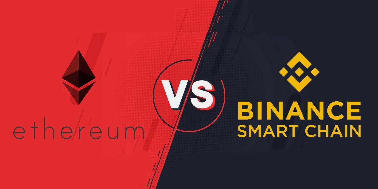 DeFi: la Binance Smart Chain en perte de vitesse face à Ethereum