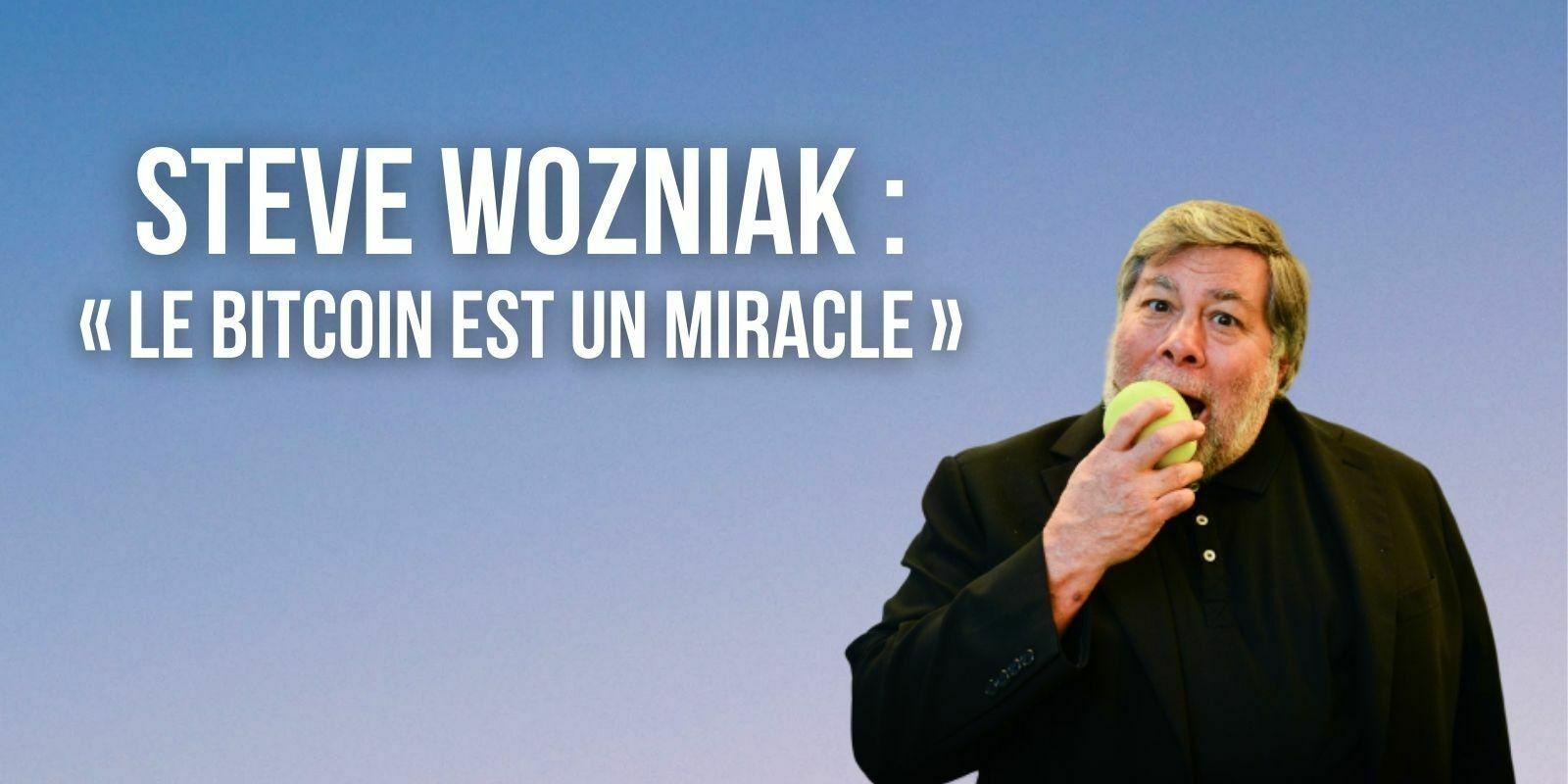 Le Bitcoin (BTC) est un « miracle mathématique » selon Steve Wozniak, cofondateur d'Apple