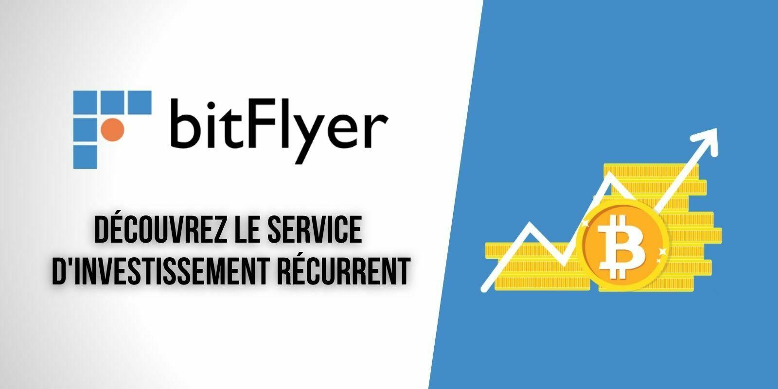 Investir sereinement dans les cryptomonnaies avec l'achat récurrent et programmé via bitFlyer